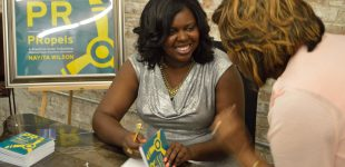 NVisions CEO & PR Strategist Nayita Wilson at PR That Propels Book Release. July 27, 2017